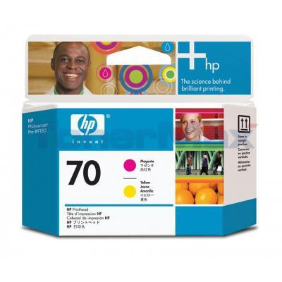 HP DESIGNJET Z2100 NO 70 PRINTHEAD MAGENTA AND YELLOW